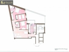 venta piso teruel. piso de tres habitaciones, primera planta, terraza,